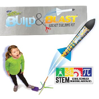 Jump Rocket Build 'N' Blast Rocket Building Kit