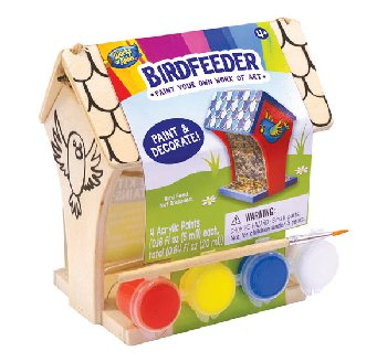 Mini Wood Birdfeeder Paint Kit (Works of Ahhh?)