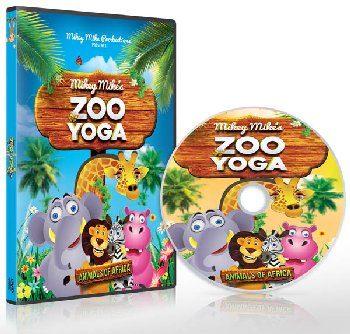Mikey Mike's Zoo Yoga DVD