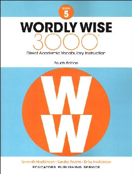 Wordly Wise 3000 4th Edition Student Book 5