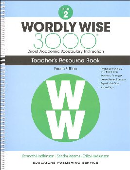 Wordly Wise 3000 4th Edition Teacher Resource Book 2
