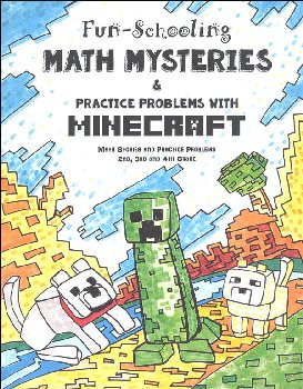 Fun-Schooling Math Mysteries & Practice Problems with Minecraft