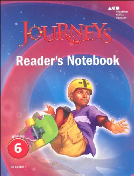 Journeys Reader's Notebook Grade 6