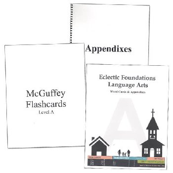 Eclectic Foundations Language Arts Level A Word Cards and Appendixes