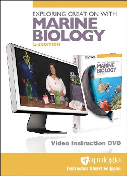 Exploring Creation with Marine Biology Video Instruction DVD 2nd Edition