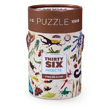 Insects Thirty-Six Animals Puzzles (100 pieces)