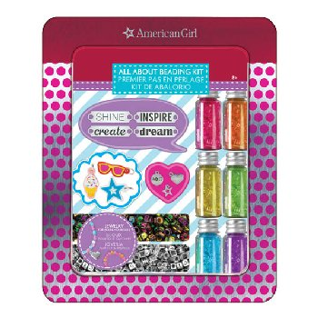 American Girl All About Beading Tin