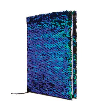 Mermaid / Black Magic Sequin Journal