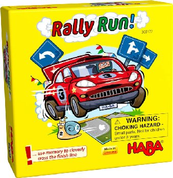 Rally Run! Game (Bring Along Game)