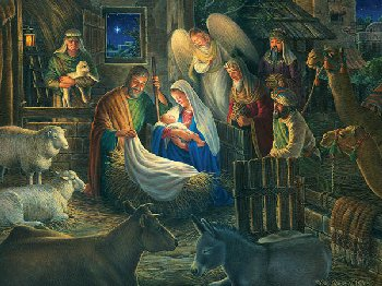 Away in a Manger Jigsaw Puzzle (500 piece)