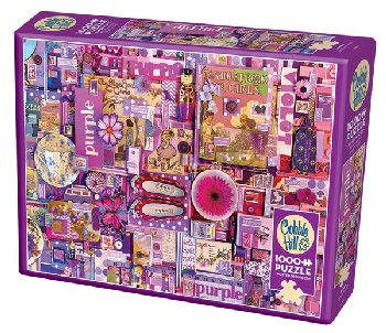 Purple Collage Jigsaw Puzzle (1000 piece)