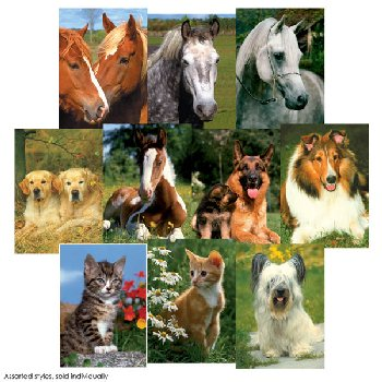 Animals Mini-Puzzle 54 piece - assorted