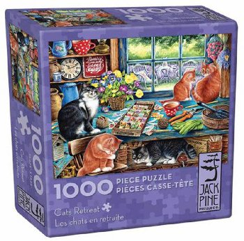Cats Retreat Jigsaw Puzzle (1000 piece)