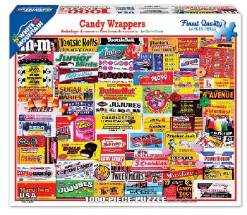 Candy Wrappers Collage Jigsaw Puzzle (1000 piece)