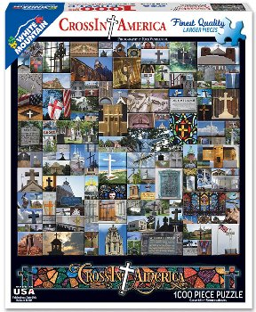 CrossIn America Collage Jigsaw Puzzle (1000 piece)
