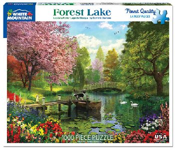 Forest Lake Jigsaw Puzzle (1000 piece)