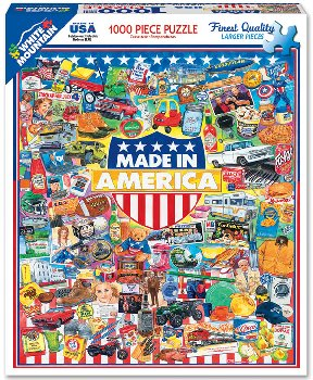 Made in America Collage Jigsaw Puzzle (1000 piece)