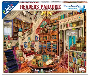 Reader's Paradise Jigsaw Puzzle (1000 piece)