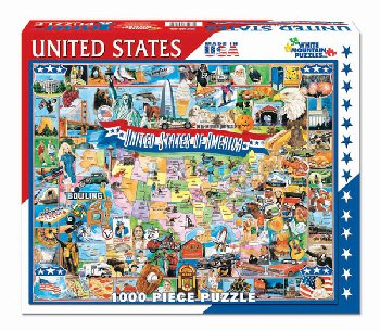 United States of America Collage Jigsaw Puzzle (1000 piece)