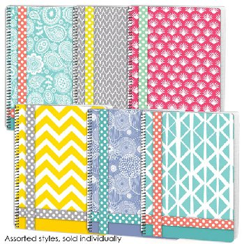 Belle College Ruled Theme Book Assorted Playfully Quirky Design