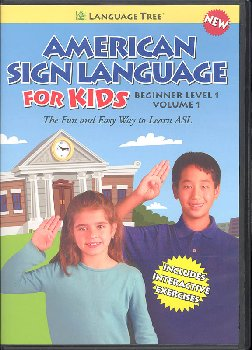 American Sign Language for Kids Volume 1 DVD