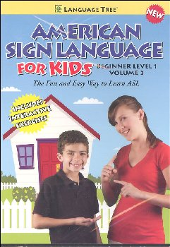 American Sign Language for Kids Volume 2 DVD