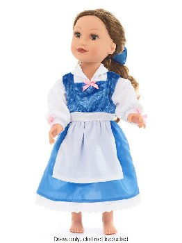 Beauty Day Doll Dress with Hair Bow