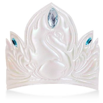 Swan Princess Soft Crown - White