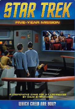 Star Trek: Five Year Mission Game