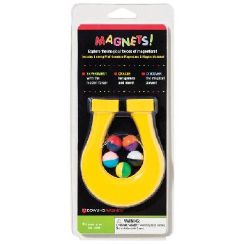 Mini-Horseshoe Magnet with Magnet Marbles