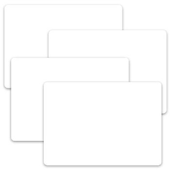 Dry Erase Placemats (Travel) Set of 4