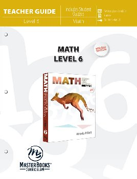 Math Lessons for a Living Education Level 6 Teacher Guide - Revised Edition (3rd Printing)