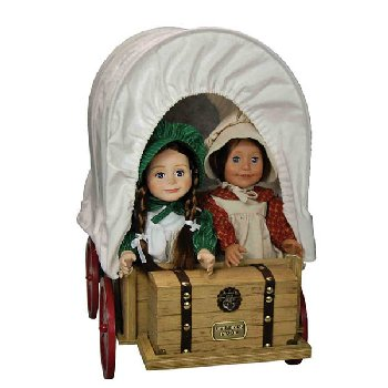 Little House Wagon + Sleigh Conversion (For Little House Dolls & accessories)