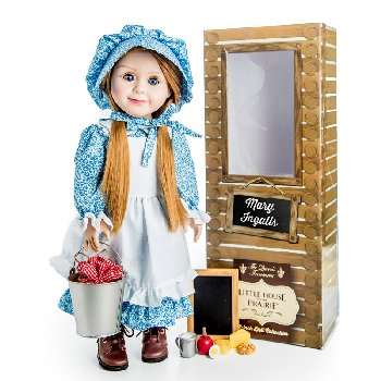 "Mary Ingalls Little 18"" Doll (Little House Dolls & accessories)"