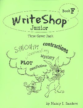 WriteShop Junior Level F Time-Saver Pack