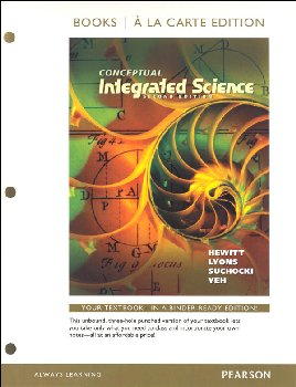 Conceptual Integrated Science, Books a la Carte Edition (2nd Edition)
