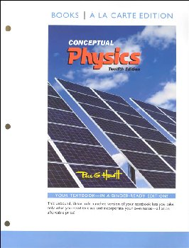 Conceptual Physics, Books a la Carte Edition (12th Edition)