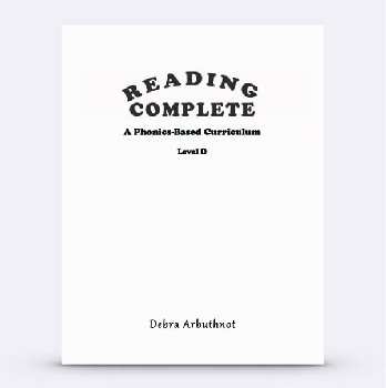 Reading Complete: Level D Student Workbook Refill Pages