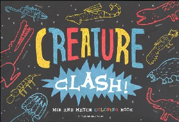 Creature Clash! Mix and Match Coloring Book