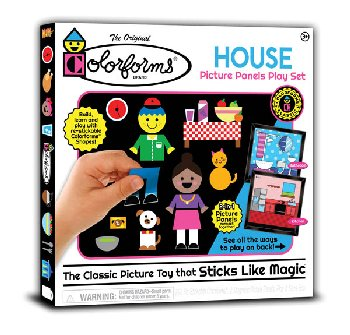 Classic Colorforms - House