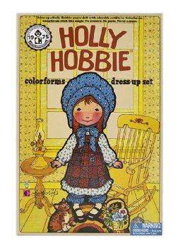 Retro Colorforms - Holly Hobbie