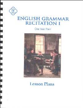 English Grammar Recitation I: 1 Year Lesson Plans