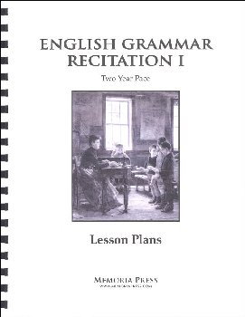 English Grammar Recitation I: 2 Year Lesson Plans