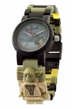 Lego Star Wars-Yoda Watch w/minifigure link