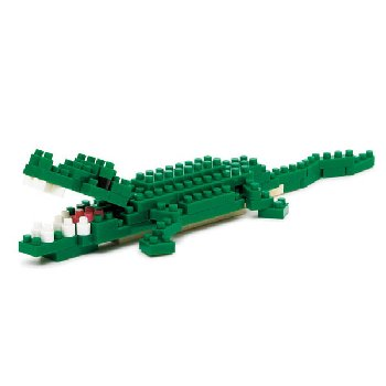 Nanoblock - Nile Crocodile Mini