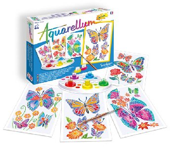 Aquarellum Junior - Butterflies and Flowers