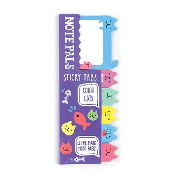 Note Pals Sticky Tabs - Color Cats