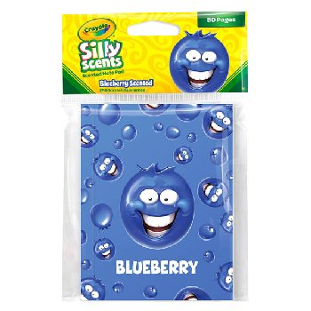 Crayola Sketch & Sniff Small Note Pad - Blueberry