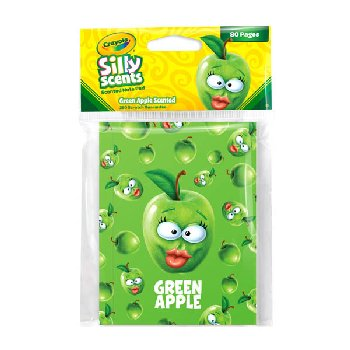 Crayola Sketch & Sniff Small Note Pad - Granny Smith Apple