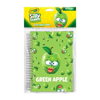 Crayola Sketch & Sniff Large Sketch Pad - Granny Smith Apple
